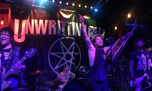 Unwritten Law - On Stage