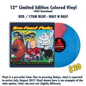 "12"" Vinyl – Red/Blue"